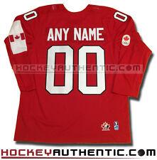 JAMIE BENN 2014 TEAM CANADA RED JERSEY NEW SOCHI OLYMPICS