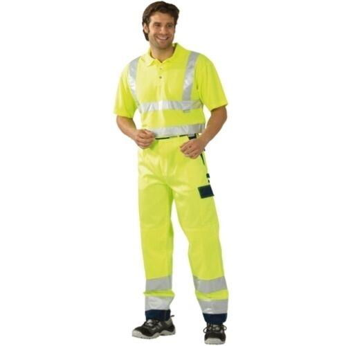 von PLANAM Polo-Shirt Größe S-2XL einfarbig Arbeitshemd WARNSCHUTZ