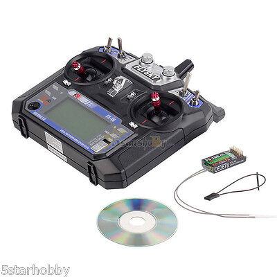 FlySky FS-I6 2.4G 6CH RC Radio Control Transmitter Receiver for Multicopter Heli
