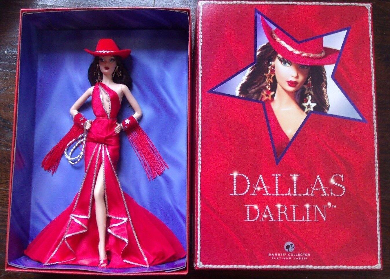 Dallas Darlin Barbie 2007 convención Morena le Platino Raro