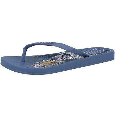 Ipanema Anat Temas Viii Fem Damen Zehentrenner Sandale Blue 82520-8914