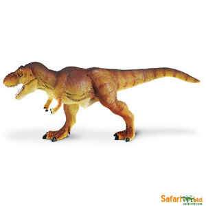 Safari Ltd Prehistoric Life Feathered Tyrannosaurus Rex Reaic Hand Painted Toy Figurine Model