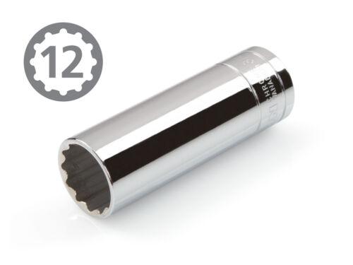 12-point Cr-V TEKTON 14240 1//2 pouces lecteur par 3//4 pouces Douille Profonde