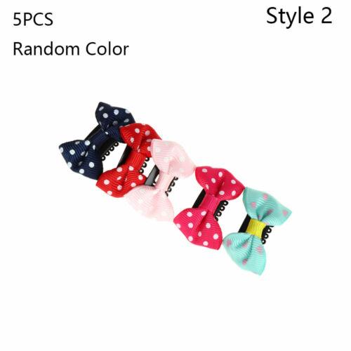 Cute Girl/'s Fashion Newborn Infant Headwear Bow Baby Hairpin Mini Hair Clip