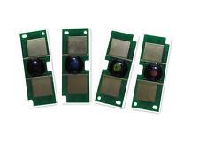 4 GENUINE HP 1500 2500 2550L C9700A C9701A C9702A C9703A COLOR TONER RESET CHIP