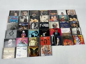CD-Sammlung-Alben-39-Stueck-Rock-Pop-Hits-viele-bekannte-Namen-siehe-Bilder