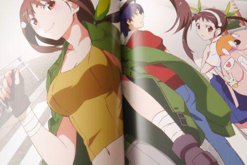 "JAPAN Monogatari series Heroine Book vol.2 /""Mayoi Hachikuji/"""
