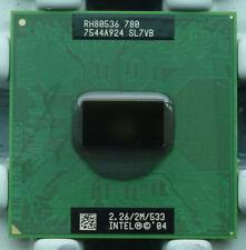 Intel Pentium M 780 SL7VB 2.26ghz 2M FSB 533 MHz 855 915 chipset CPU Processor
