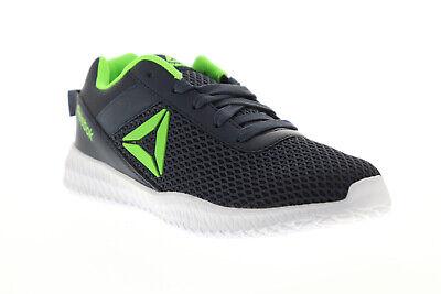 Reebok Flexagon DV8355 Mens Blue Low Top Athletic Gym Cross Training Shoes 5