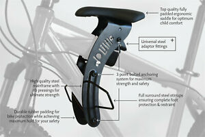 DO LITTLE Front-Mounted Kids Bike Seat for Active Riding Interactive kids Ride