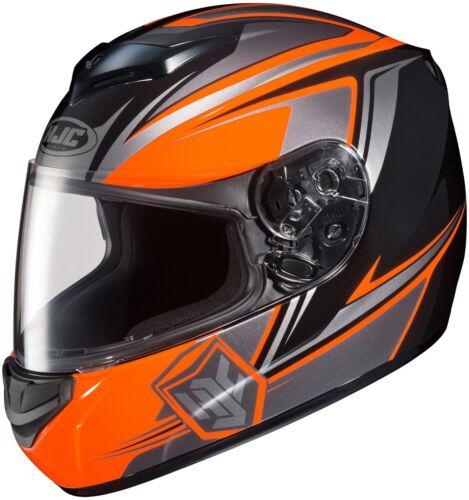 HJC CS-R2 Seca MC-6 Full Face Motorcycle Helmet Orange