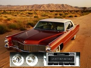 NEW USA-630 II* 300 watt '65-66 Cadillac AM FM Stereo Radio iPod USB