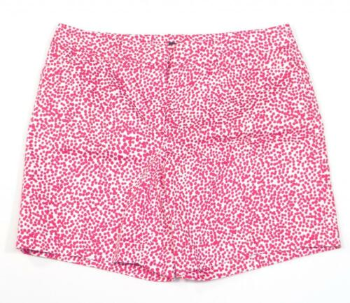 casual Womans elasticizzati Nwt e New bianchi Pantaloncini rossi Jones York 4qBt86wxF