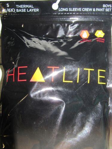 Boys HEATLITE Thermal Underwear 2 PC Shirt /& Pant Set  Base Layer  NEW Camo