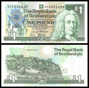 Scotland-1-Pound-1992-Commemorative-European-Summit-Edinburgh-UNC-EC-0939745