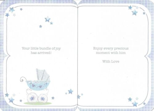 birth cute card you/'ve got a baby brother new arrival choose from 2 x cards!