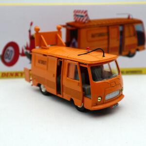 1//43 DINKY TOYS 570 A FOURGON PEUGEOT J7 Dépannage Autoroutes ATLAS CAR MODEL