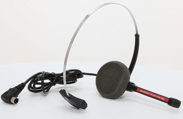 Hme HS12 Headset for Com6000 Wireless Drive Thru Intercom Beltpack for sale online