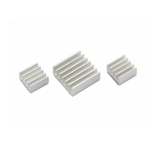 Aluminium Heatsink set for ALL Raspberry Pi Models SELF ADHESIVE 1 2 3 sets