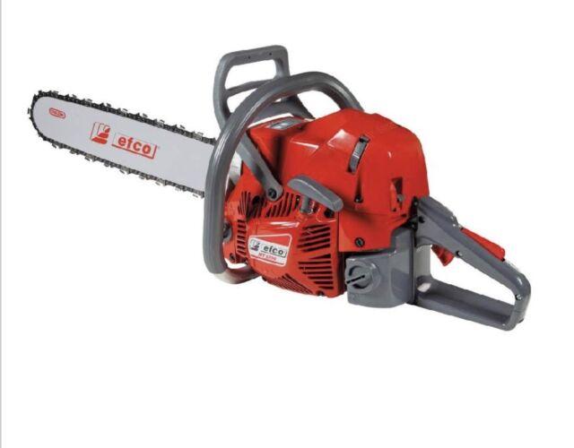 "Efco 20"" MT6500 Chain Saw, 63.4cc"