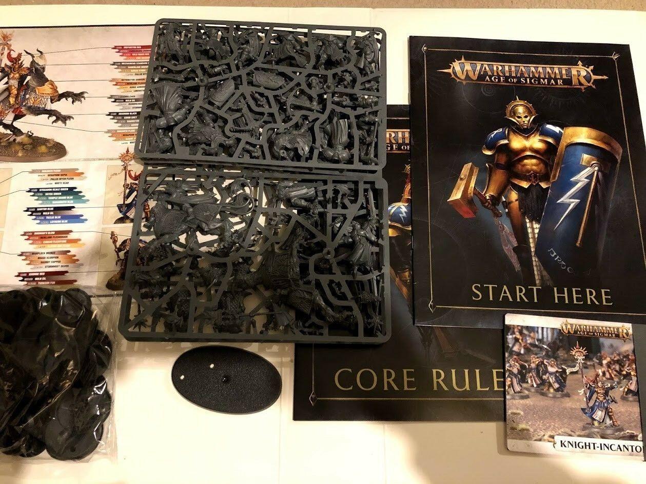 Warhammer Age of Sigmar Stormcast Eternals Army Models Soul Wars 19 Models