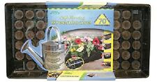 (14)  ea Jiffy T70H 70 Cell Self Watering Greenhouse Seed Starting Trays