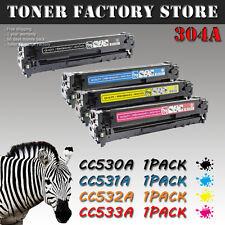 4PK 304A CC530A CC531A CC532A CC533A Toner For HP Color LaserJet CP2025 CP2025dn