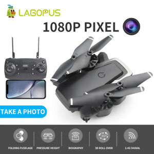 D8 Foldable 40 Mins Flight Duration WIFI 1080P Drone With HD Camera 2 batteries