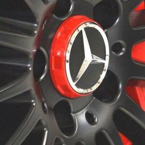 4-pcs-Mercedes-Benz-Cache-Moyeu-AMG-W117-CLA45-W205-C63-W207-W176-A45-X156-GLA4