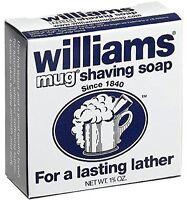 6 Pack Williams Mug Shaving Soap 1.75 Oz Each on sale
