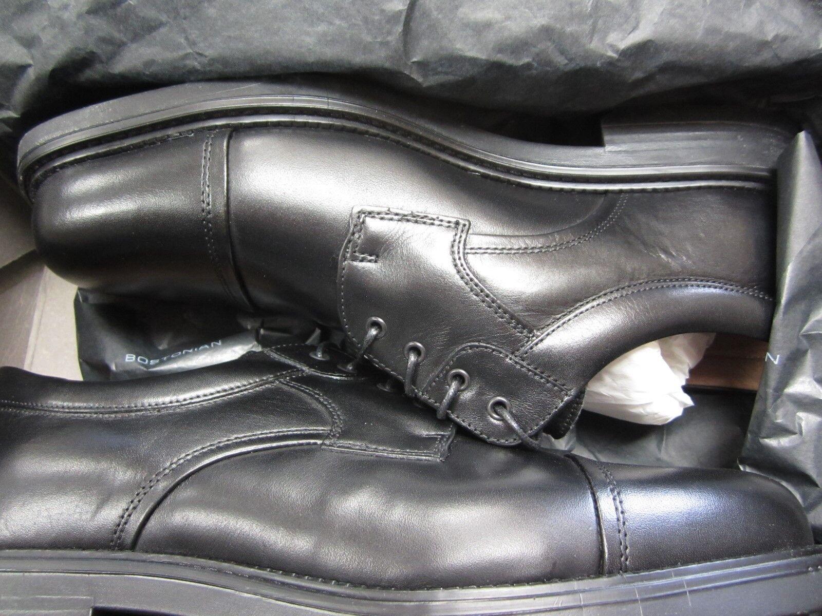 Nuevo modelo, 9 W Boston Toscana negro cuero Oxford