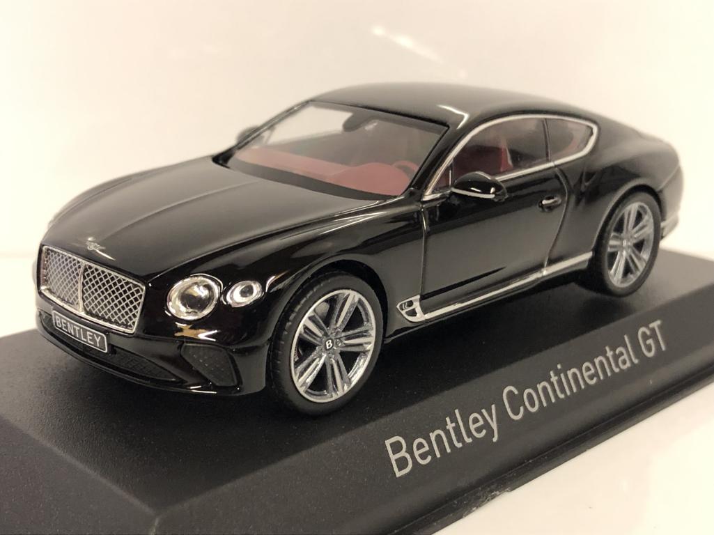 Bentley Continental Gt 2018 Béluga Noir 1 43 Norev 270320   approvisionnement direct des fabricants