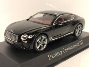 Bentley Continental GT 2018 Beluga Negro 1 43 Norev 270320