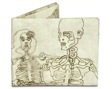 Skeletons Tyvek Mighty Wallet Bi-Fold Wallet by Dynomighty