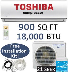 18000-BTU-Ductless-Mini-Split-Air-Conditioner-Heat-Pump-Ceiling-Cassette-Floor