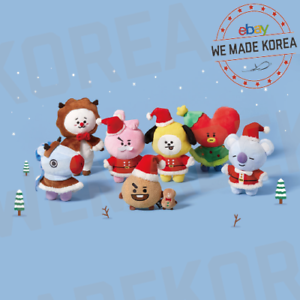 BT21-Character-Winter-Standing-Doll-2019-7types-Official-K-POP-Authentic-Goods