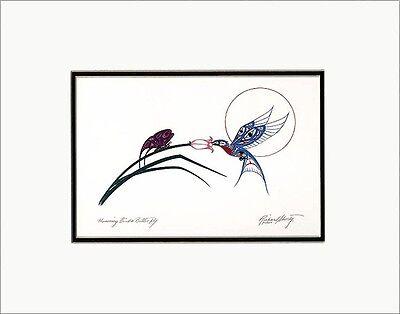 RICHARD SHORTY Kwakwaka'wakw Kwagiulth native artist RAVEN ~ Matted art print