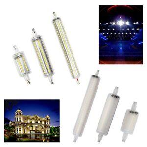 led leuchtmittel stab 5w 10w 15w r7s fluter 78mm 118mm 189mm 360 halogenstab ebay. Black Bedroom Furniture Sets. Home Design Ideas