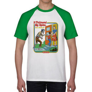 It-Followed-Me-Home-Men-039-s-T-shirts-Ringer-Cotton-Short-Sleeve-funny-Tee-shirts
