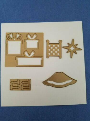 Anna Griffin Christmas Tree Decorations Cutting Die Cut Card Making Present Star