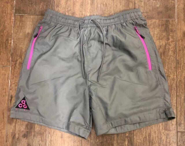 Nike NikeLab ACG Woven Shorts Grey Purple Black AO8272-065 Men/'s XL-XXL