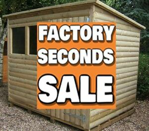 image is loading 8x8 tanalised t amp g 034 factory second - Garden Sheds 8x8