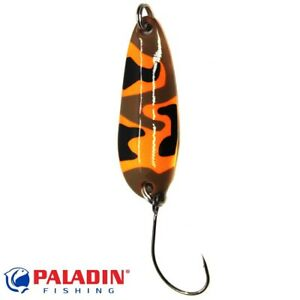40 gramm Blinker von Interfish silber m.gelb Streifen