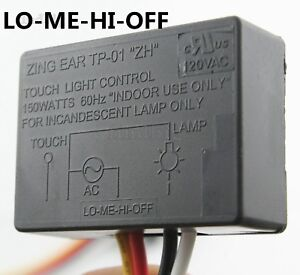 Zing Ear Tp 01 Tp 01f Zh Touch Light Dimmer Switch Table Lamp