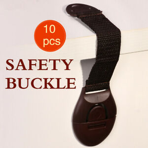 10pcs-Baby-Safety-Protection-Lock-Kids-Baby-Anti-Clip-Door-Fridge-Drawer-Latches
