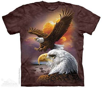 New The Mountain Eagle & Clouds T Shirt