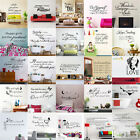 DIY Removable Art Vinyl Wall Sticker Decal Mural Quote Word Poem Home Room Decor