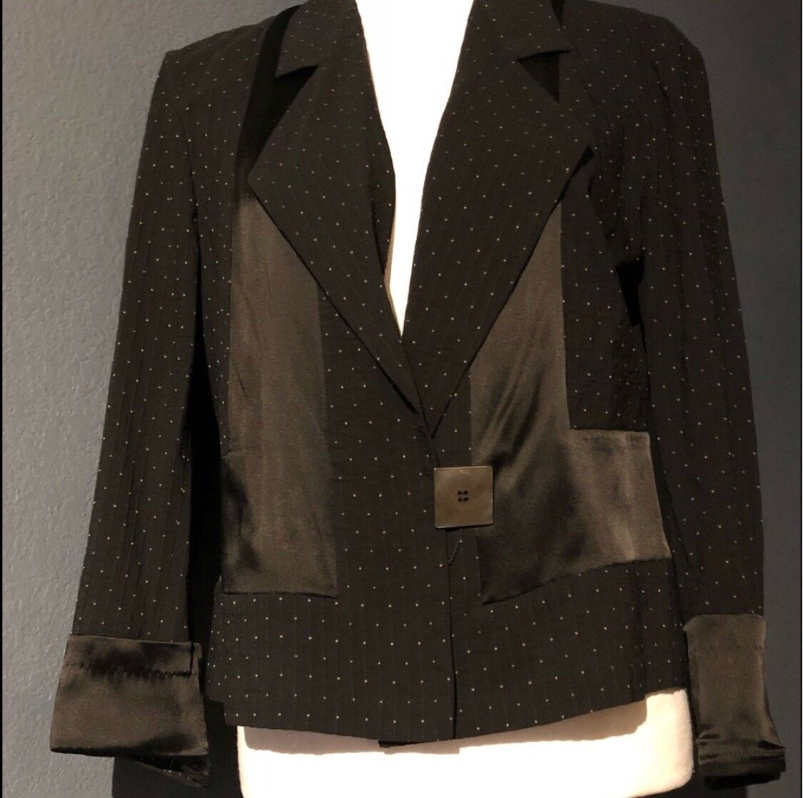 Dries Van Noten Womens Blazer (Small- 40 - Or 4 6)  600 Vintage