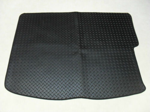 Renault Grand Scenic 2009-on Fully Tailored Deluxe Rubber Boot Mat in Black