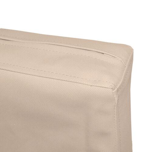 Taille personnalisée Pa814t kaki imperméable extérieur pvc boîte 3D SOFA Siège Coussin Couverture